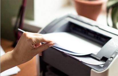A impressora não está puxando o papel?